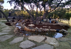 San Antonio Pond Build