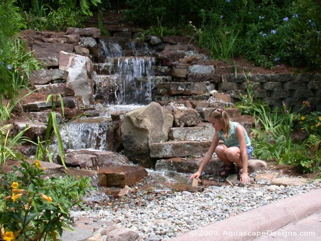 Pondless waterfalls halo outdoor for Design of pondless waterfalls