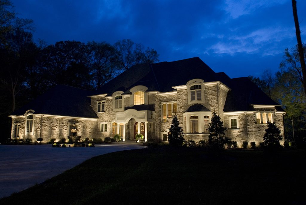 Make your house bigger and brighter halo outdoor san antonio outdoor lighting company landscape lighting lighting company in san antonio mozeypictures Choice Image